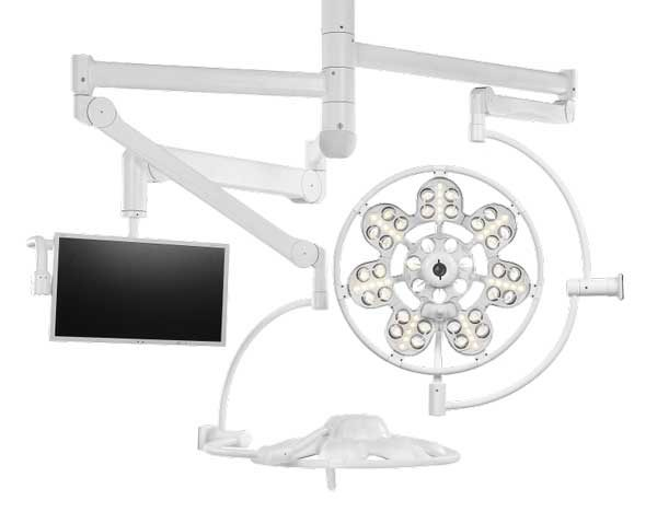 Светильник операционный потолочный «ЭМАЛЕД 500/500/X»