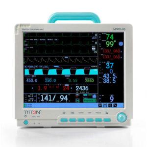 Мониторы для наркозно-дыхательных аппаратов/Мониторы операционные/Мониторы реанимационные МПР6-03